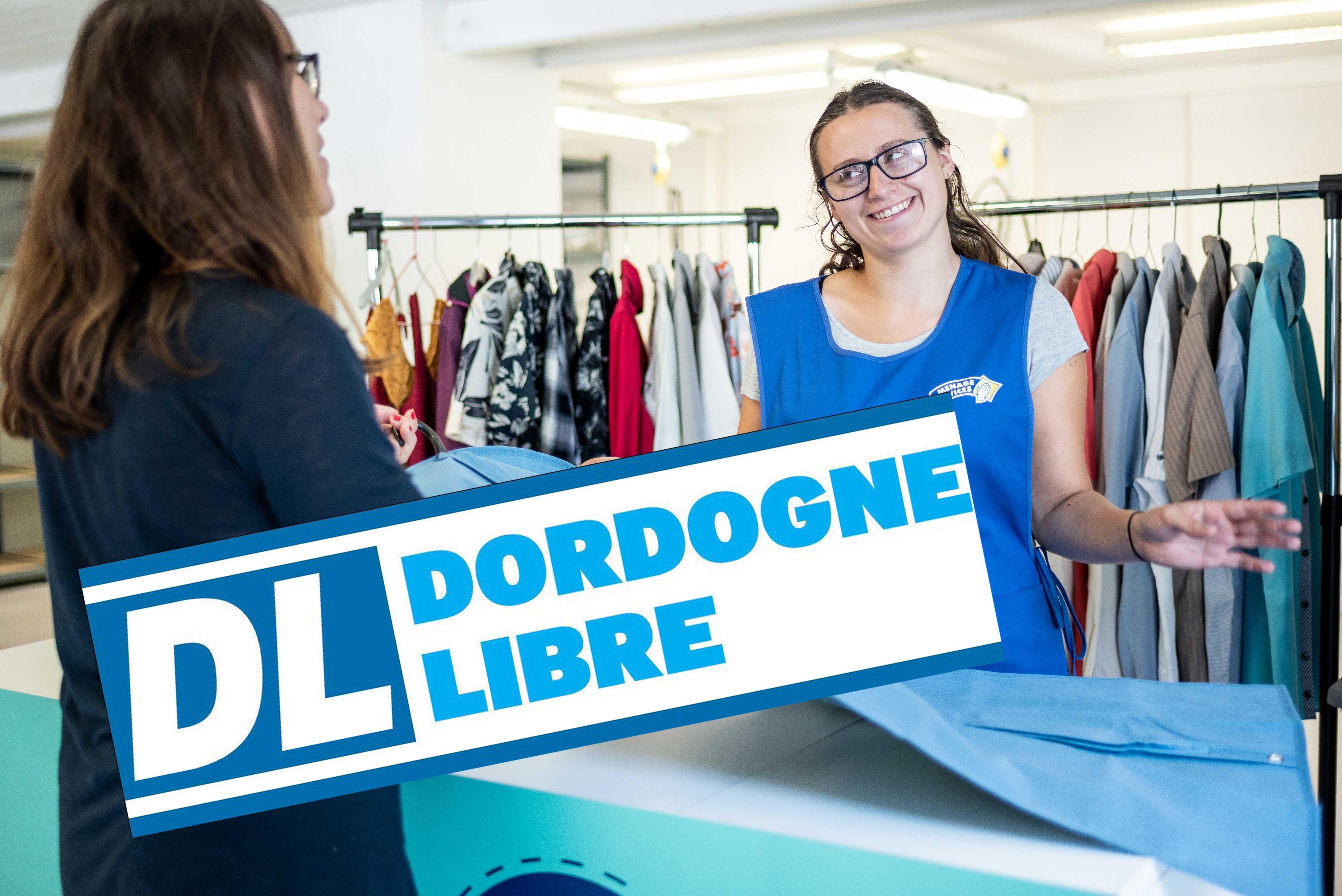 L'Atelier fait la une de la Dordogne Libre !